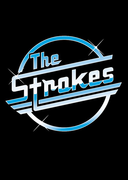 Strokes Posters Strokes Logo Poster Pp0542 Panic Posters