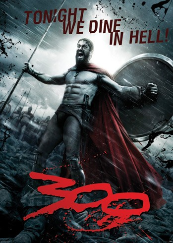 Film Poster Picture Art 300 Tonight We Dine In Hell Giclee Canvas Movie