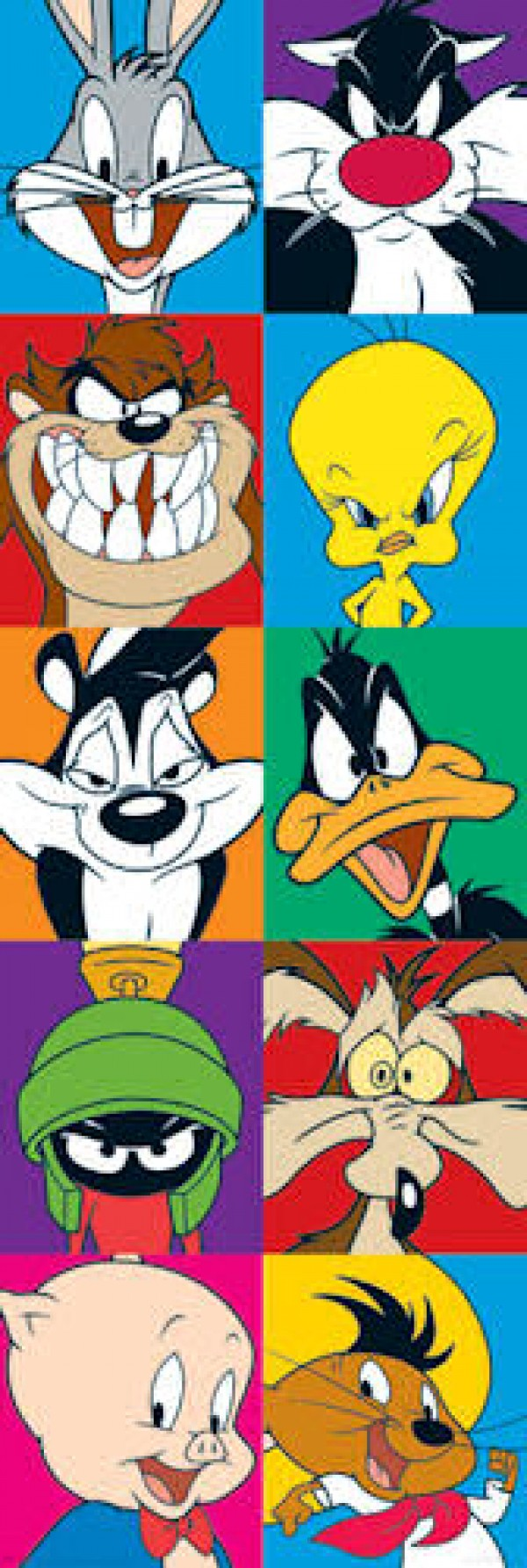 Looney Tunes Door Poster