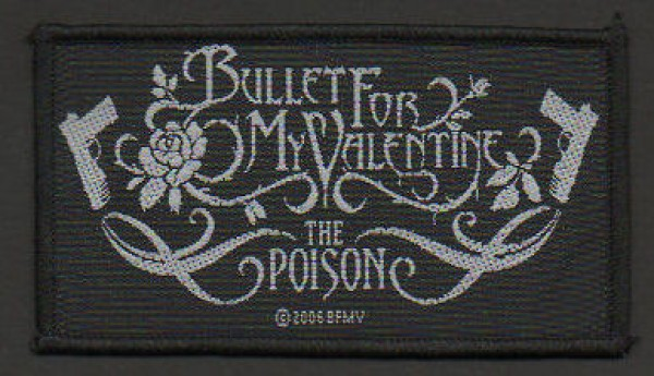 Bullet For My Valentine Poison Patch