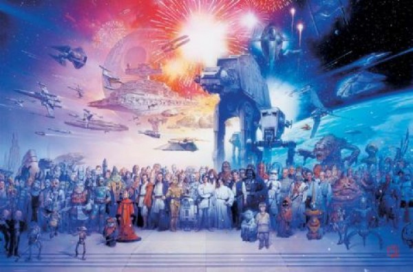 Star Wars Characters Poster