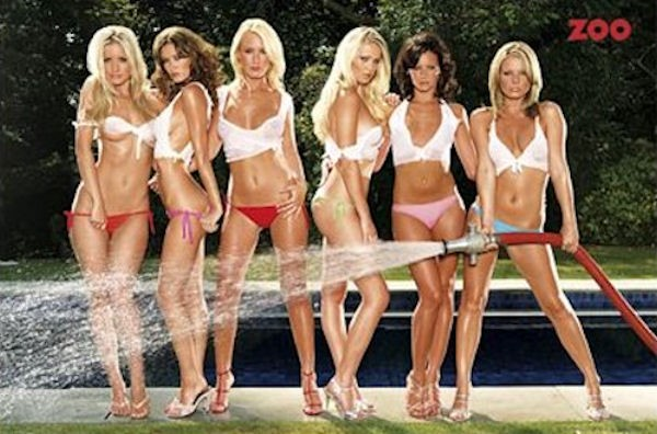 Zoo Hose Girls Poster