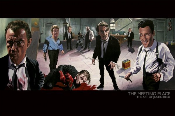 Reservoir Dogs Meeting Place Poster