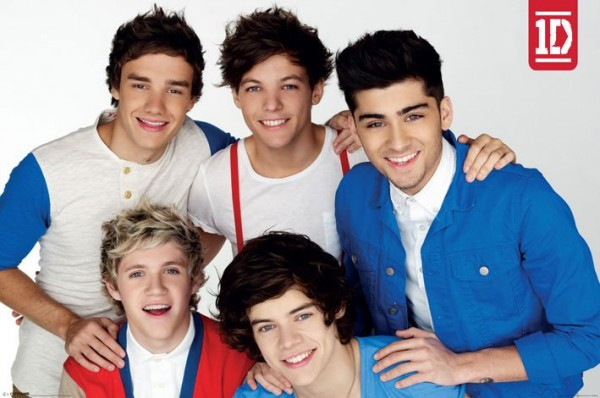 One Direction (Red White and Blue) Poster