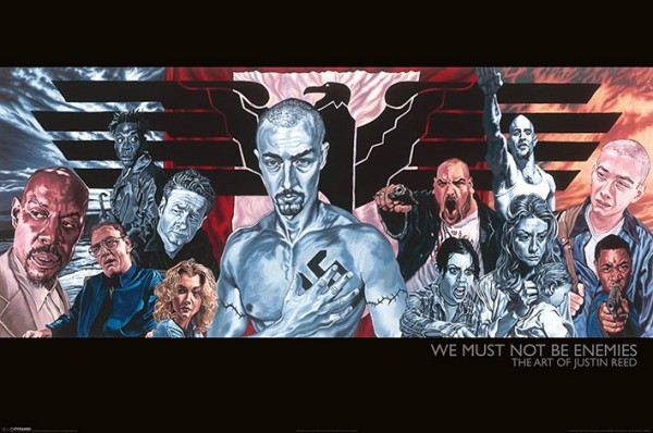 American History X (Justin Reed) Poster