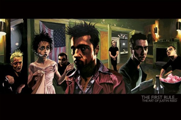 Fight Club (Justin Reed) Poster