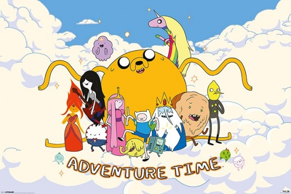 Adventure Time (Cloud) Poster