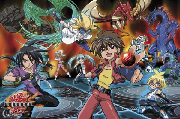 Bakugan Battle Poster