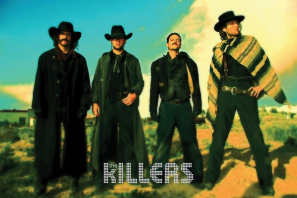 Killers Cowboy Poster