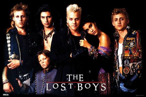 Lost Boys Characters Poster