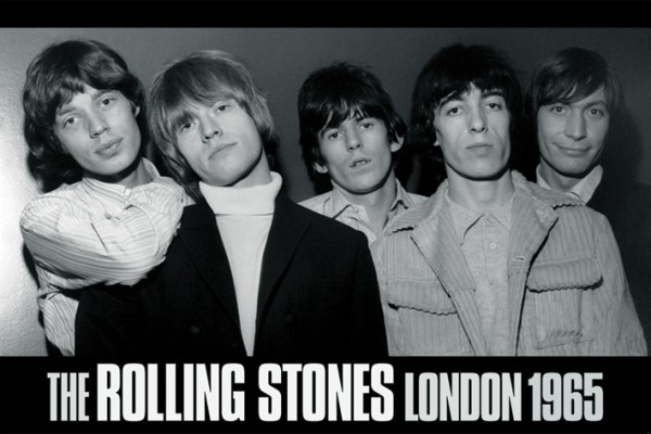 Rolling Stones London 1965 Poster