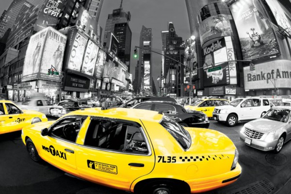 New York Taxi Poster