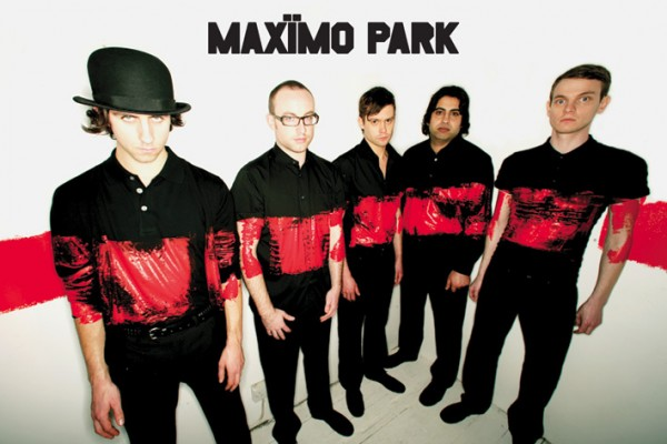 Maximo Park Group paint poster