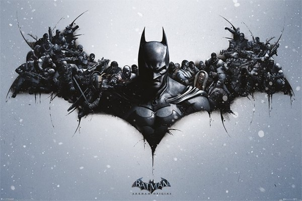 Batman Arkham Origins (Bat Logo) Poster