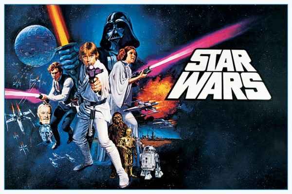 Star Wars Posters Star Wars Episode Iv A New Hope Poster Pp33321 Panic Posters