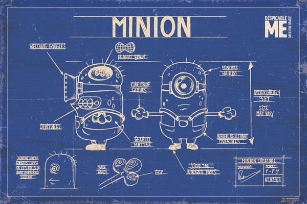 Pp Despicable Me Minions Poster