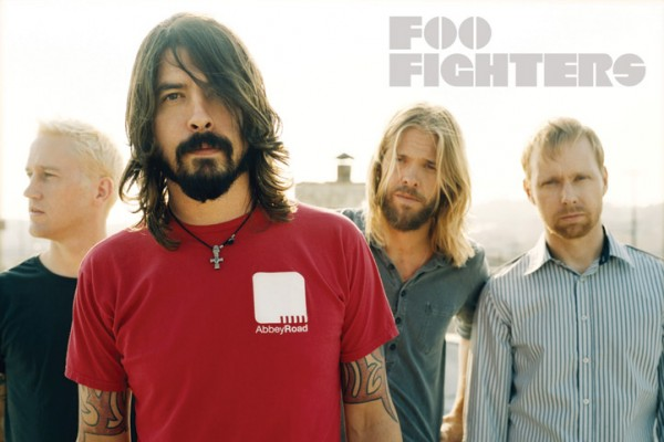 Foo Fighters Group Poster