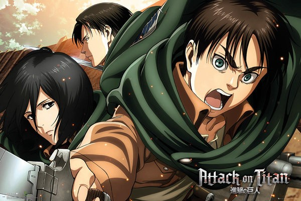 Attack On Titan (Season 2 Scouts) Poster
