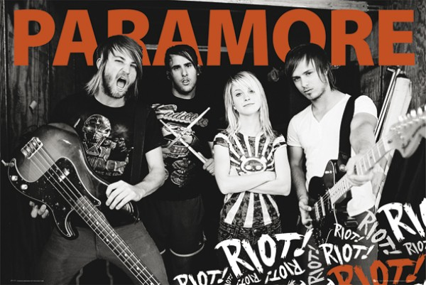 Paramore Riot Poster
