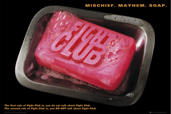 Fight Club Soap Poster