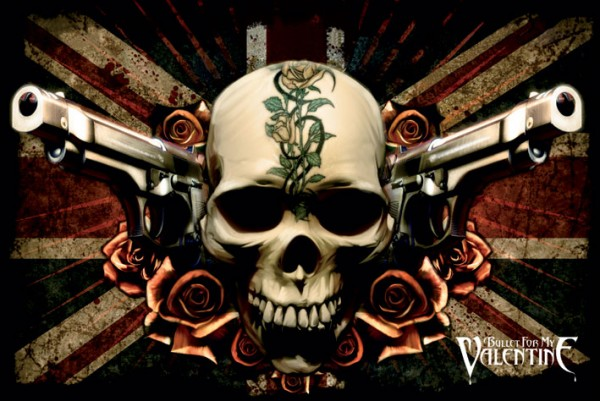 Bullet For My Valentine Union Jack Poster