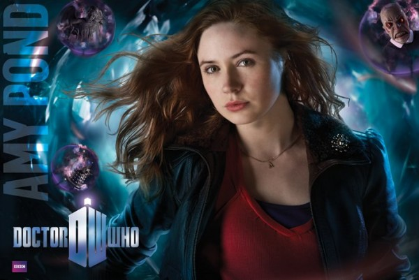 Doctor Who Amy Pond poster featuring Karen Gillan