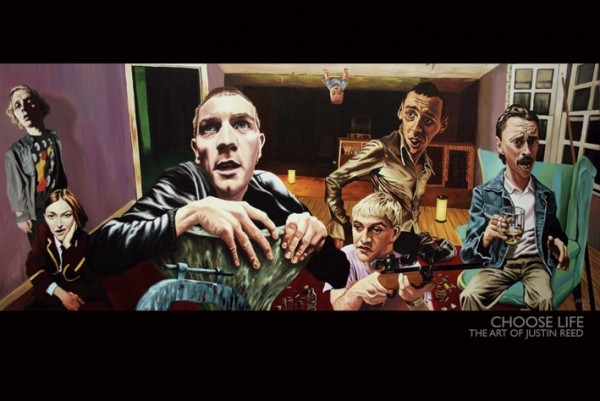 Trainspotting Choose Life (Justin Reed Art) Poster