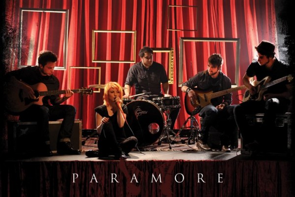 Paramore Stage Poster