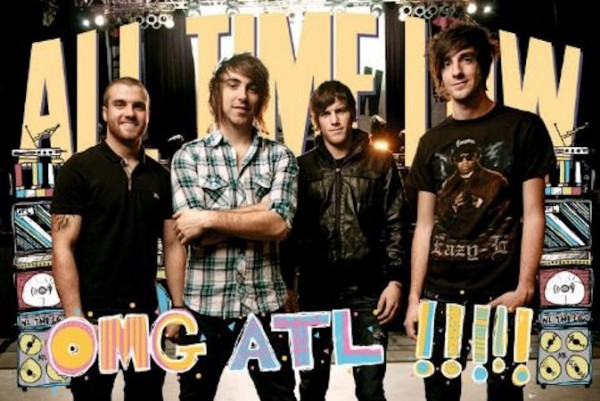All Time Low OMG Poster