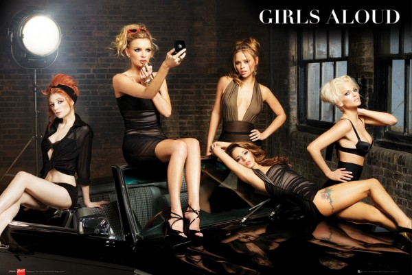 Girls Aloud Spotlight Poster