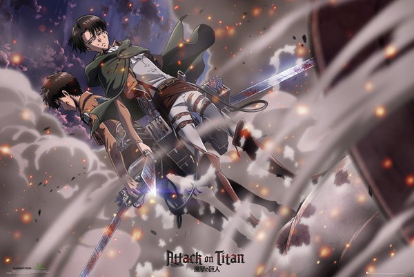 Attack On Titan (Battle) Poster
