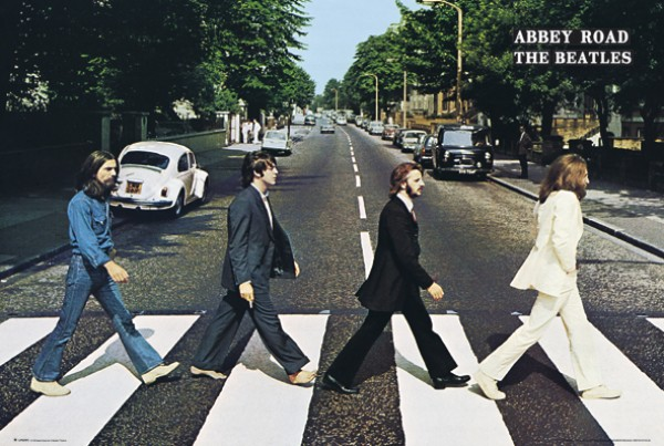 Beatles Abbey Road Giant Poster