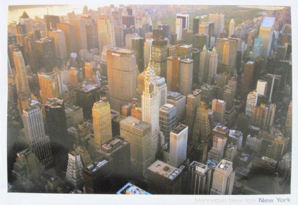New York City Ariel View Poster