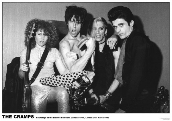 Cramps London 1980 Poster