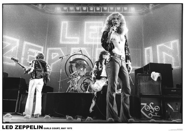 Led Zeppelin (Earls Court) Poster