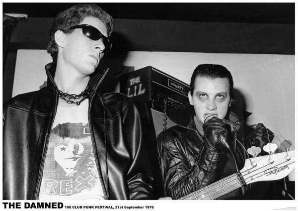 Damned (Sensible and Vanian) Poster