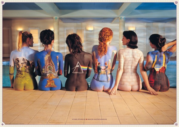 Pink Floyd Back Catalogue Giant Poster