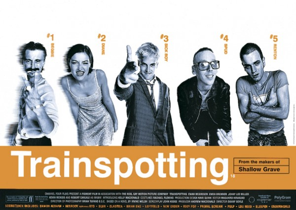 Trainspotting Cast Poster