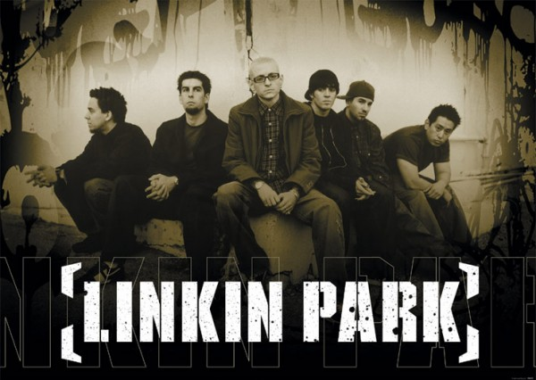 Linkin Park Sepia Poster