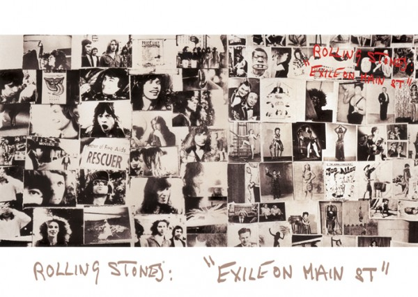 Rolling Stones Exile On Main St Poster