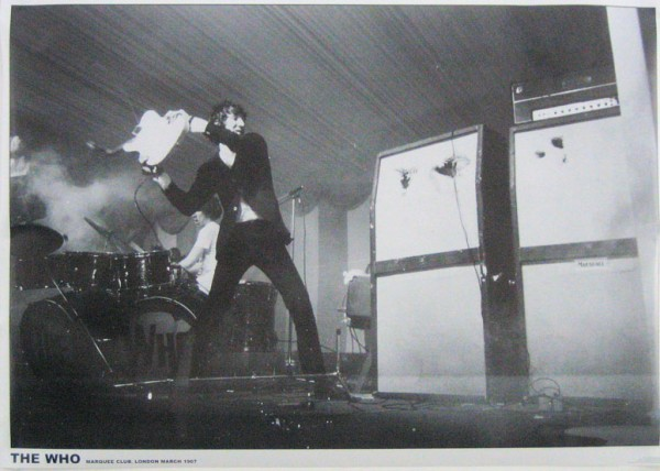 Who Pete Townshend Poster