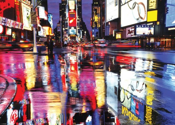 New York Times Square Giant Poster