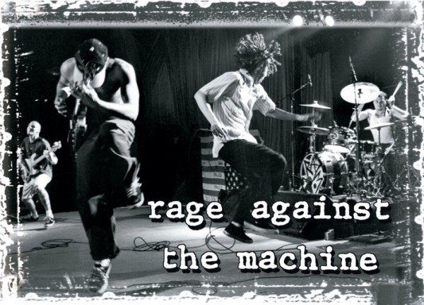 Rage Against The Machine On Stage Poster