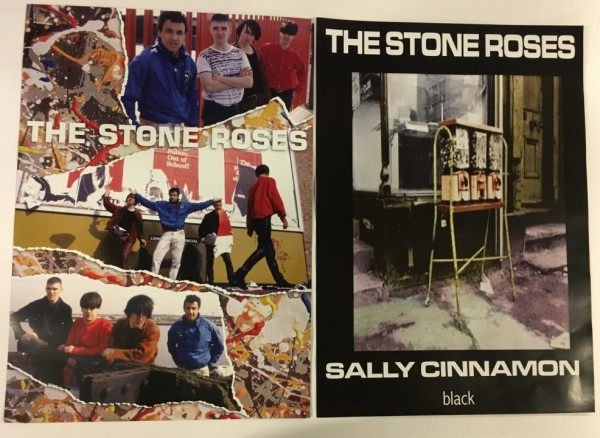 Stone Roses Sally Cinnamon Double Sided Promo Poster