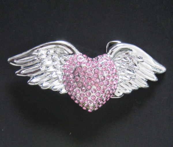 Heart & Wings Buckle