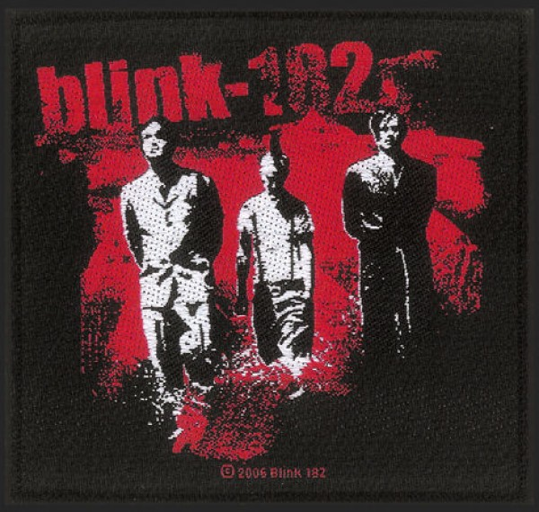 Blink 182 Band Patch