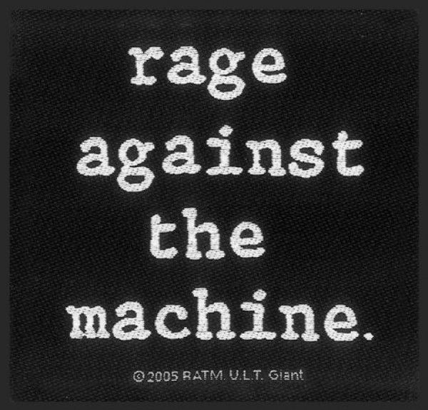Rage Against The Machine Classic Logo Patch