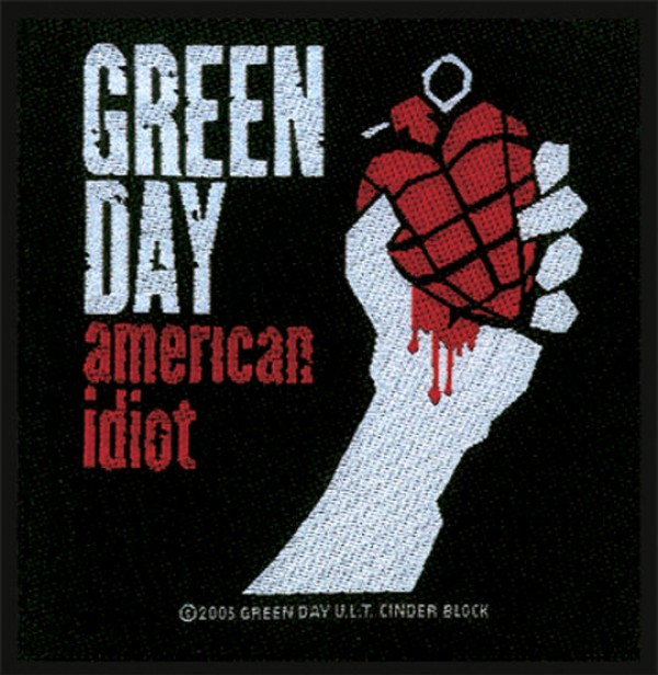 Green Day American Idiot Patch