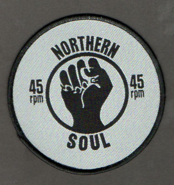 Northern Soul 45 RPM patch