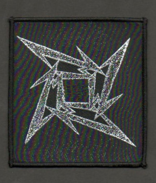 Metallica Ninja Star Patch